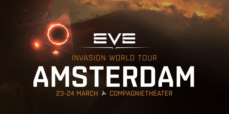 Streamfleet joins the EVE Invasion World Tour starting in Amsterdam